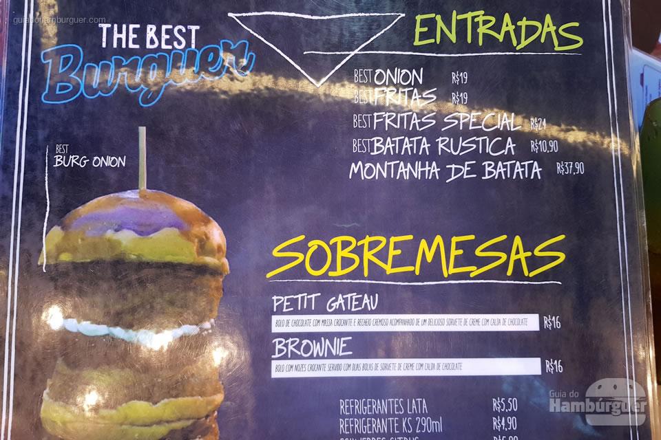 Cardápio - The Best Burguer - Vitória - ES