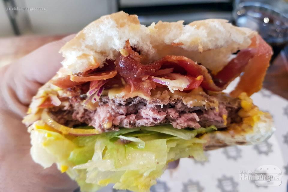 Ponto da carne - Na Garagem Hamburgueria - São Paulo - SP