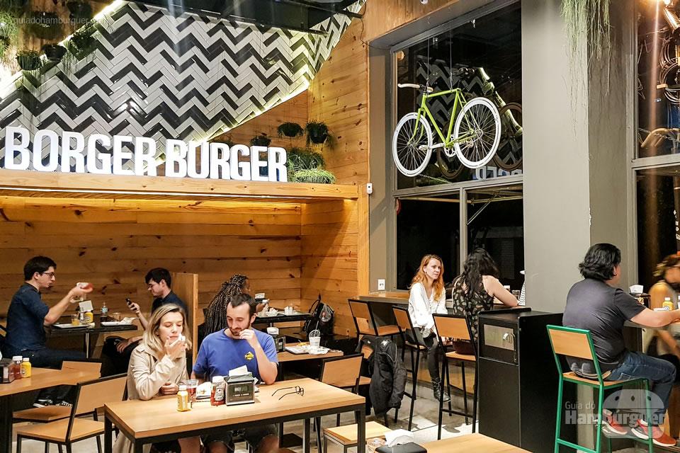 Salão - Borger Burger - Pinheiros - SP