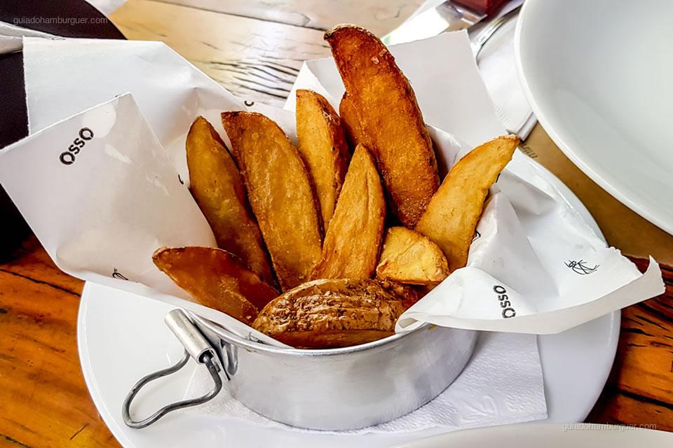 Batatas Fritas Rústicas - Osso Belo Horizonte - Guia do Hambúrguer