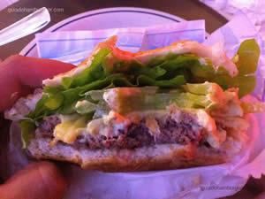 Cheese salada (x-salada) - Snack Point Burger