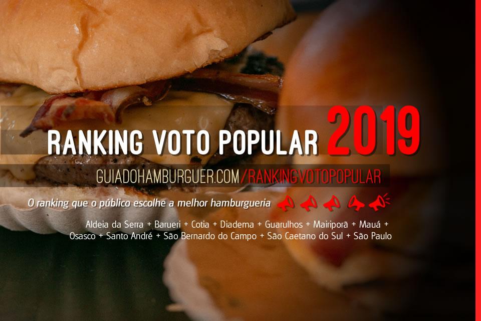 Ranking Voto Popular 2019