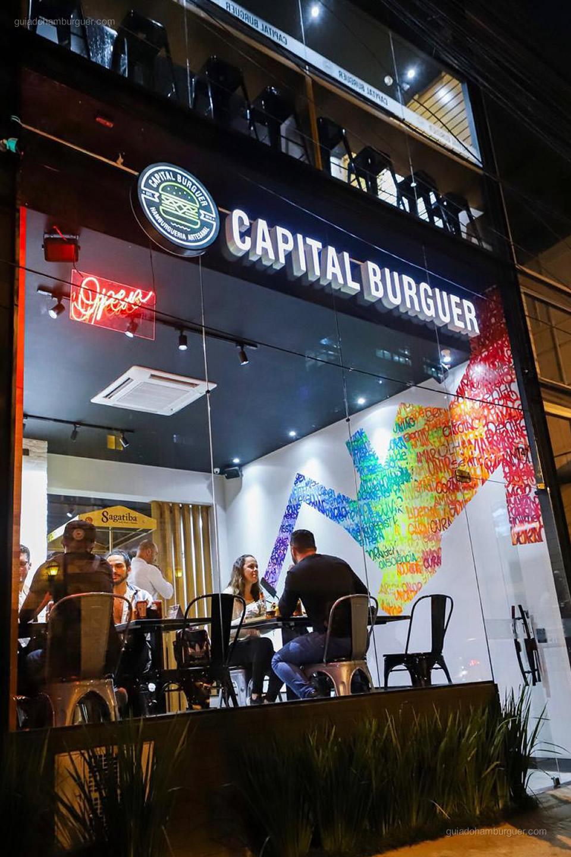 Fachada - Capital Burguer - Vila Olímpia - São Paulo