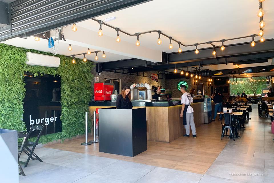Entrada - Burger Shop - Vila Olímpia - São Paulo