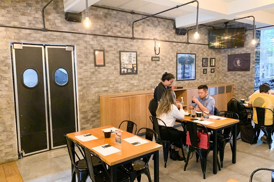 Café - Burger Shop - Vila Olímpia - São Paulo