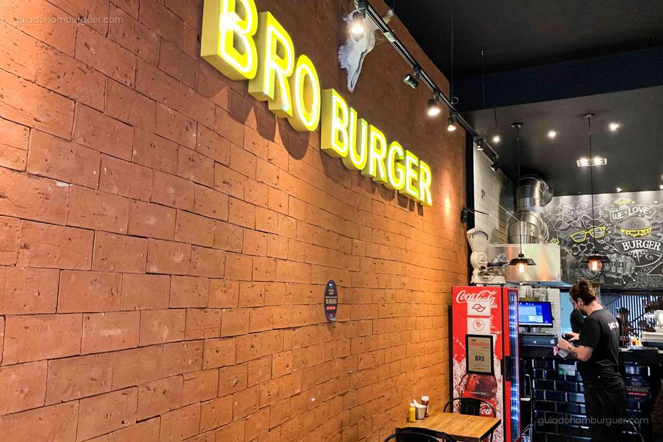 Letreiro - Bro Burger