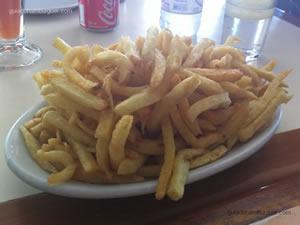 Batatas fritas - Blooming Burger