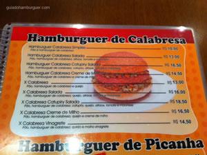 Cardápio - Burguer Place