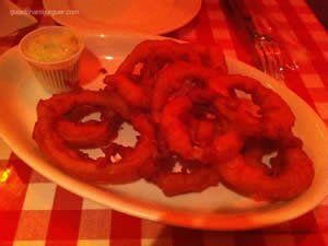 Onion rings - St. Louis