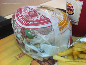 Mega BK Stacker Quádruplo - Burger King