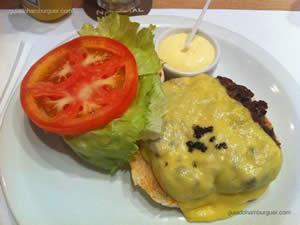 Hambúrguer de 200g com pimenta, salada e maionese à parte - Hamburgueria Nacional